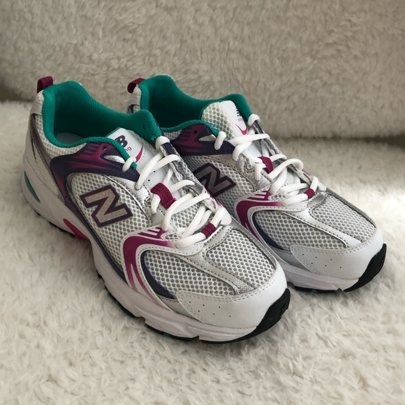New Balance | MR530 CB1 | white, purple, green